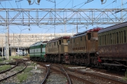 Il treno storico siciliano in trasferta a Napoli