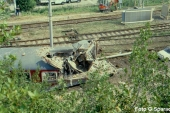 Freccia della Laguna, il treno gru delle FS a Rometta