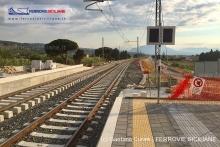 Lascari, avanzano i lavori per completare la nuova stazione