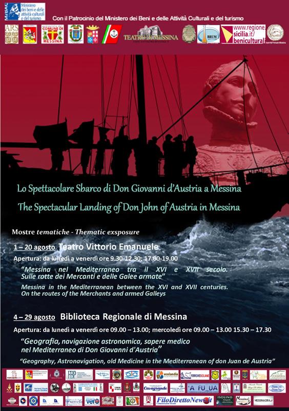 20140801 - Mostra - Lo spettacolare sbardo di Don Giovanni d'Austria a Messina - edizione 2014 -800px