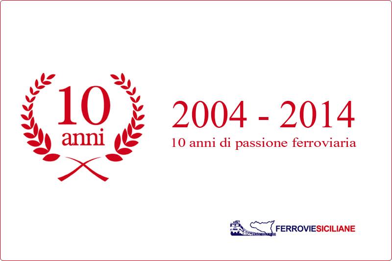 20141109 Ferrovie Siciliane 10 anni insieme