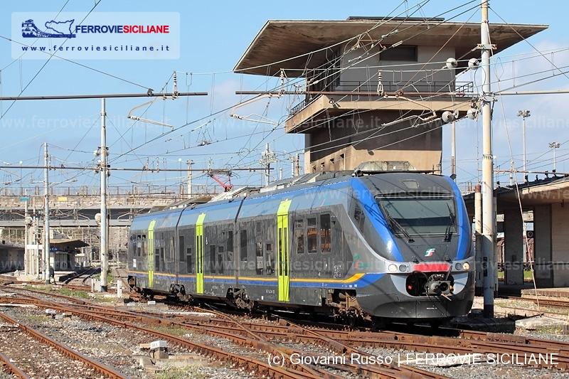 sicilia trenitalia treno regionale minuetto ale501 aln501