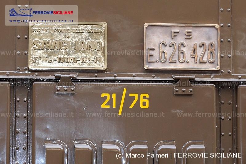 e626 e626.428 sicilia palermo messina catania trenodoc treno doc