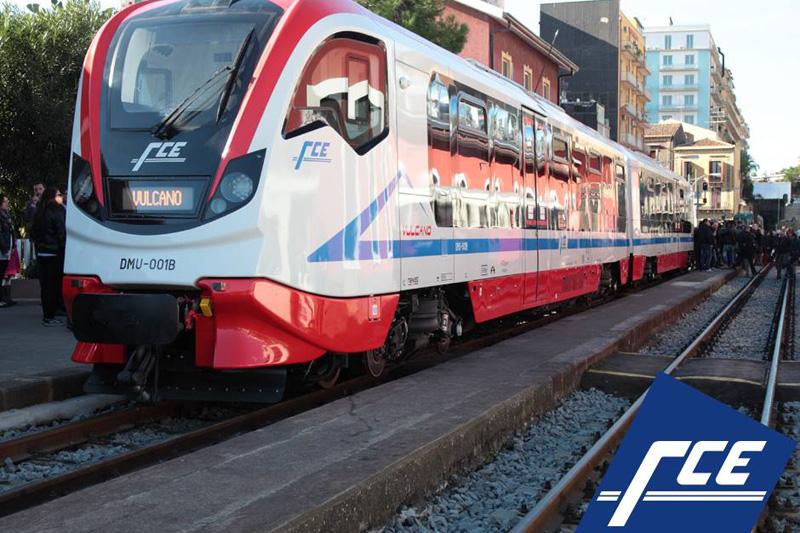 Ferrovia Circumetnea FCE DMU 001 newag
