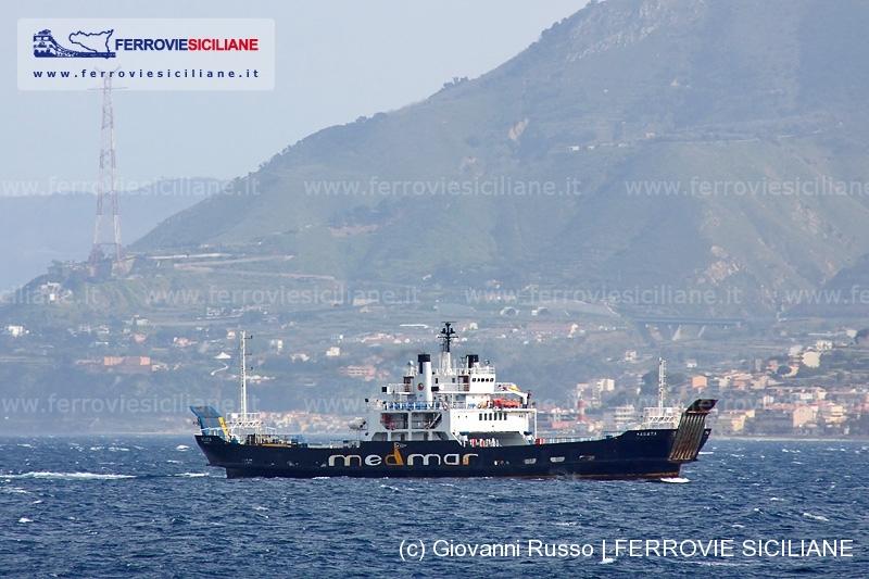 Medmar nave Agata ngi stretto messina