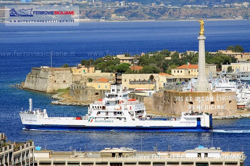 Messina Bluferries Fata Marogana ferrovie siciliane flotta fs