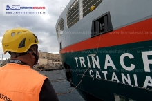 20181109 - Bluferries a bordo della nave Trinacria