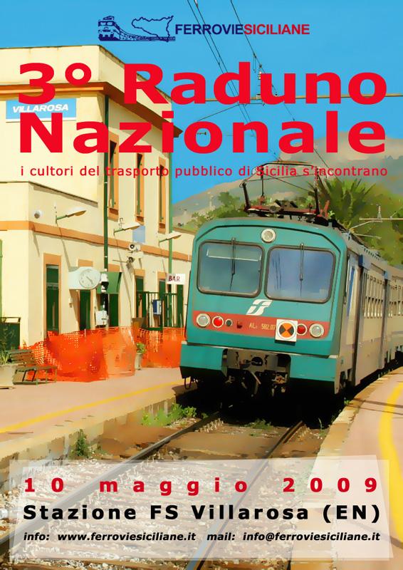 Ferrovie Siciliane, il 3° raduno a Villarosa