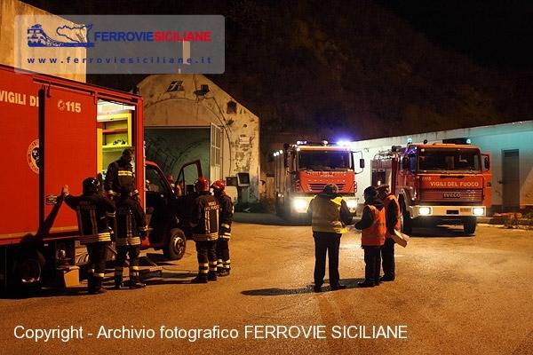 La Galleria Peloritana interessata da un'esercitazione antincendio