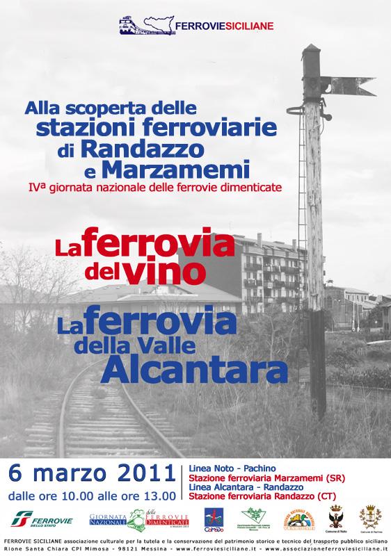 Alla scoperta delle stazioni ferroviarie di Randazzo e Marzameni: FERROVIE SICILIANE partecipa alla IVª giornata delle ferrovie dimenticate