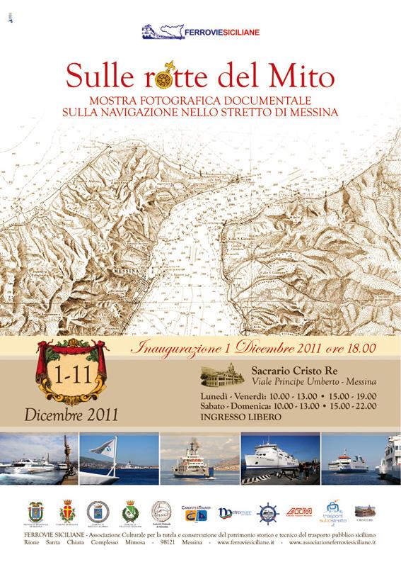 Sulle rotte del Mito: la mostra fotografica sulla navigazione nello Stretto di Messina