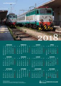 Ferrovie Siciliane - calendario 2018