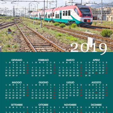 Calendario, Ferrovie Siciliane 2019