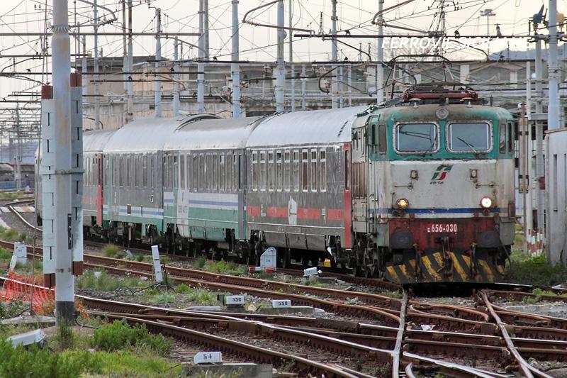 Sicilia: treni a lunga percorrenza, disservizi ai viaggiatori per le vetuste E656
