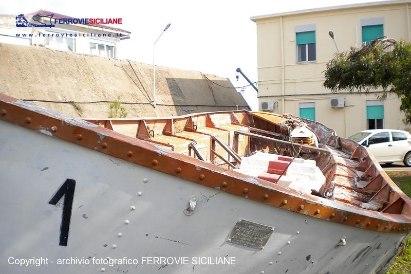 Un nuovo futuro per la scialuppa 1 della nave traghetto Cariddi