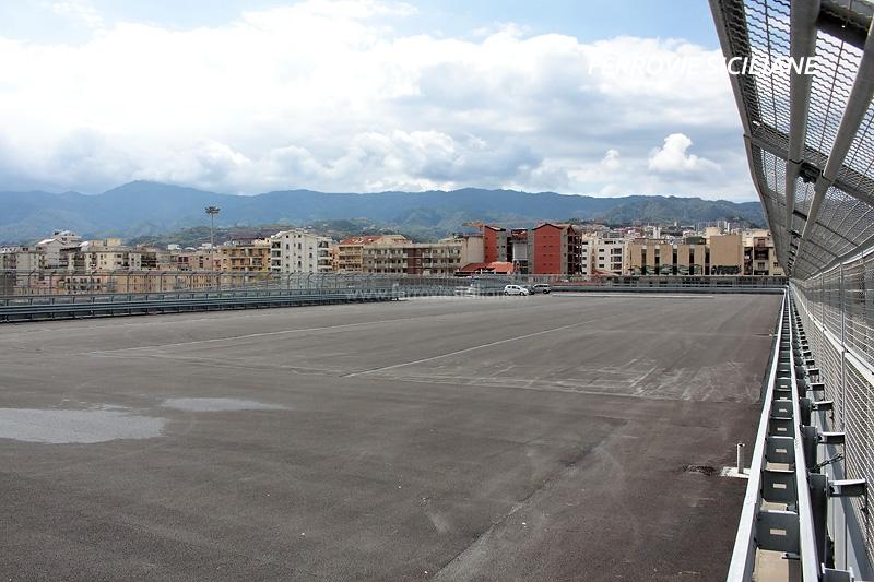 Messina Centrale, aperto il nuovo parcheggio sopraelevato