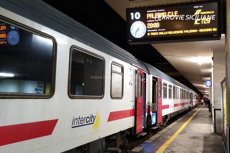 Coronavirus, il MIT sospende i collegamenti ferroviari con la Sicilia
