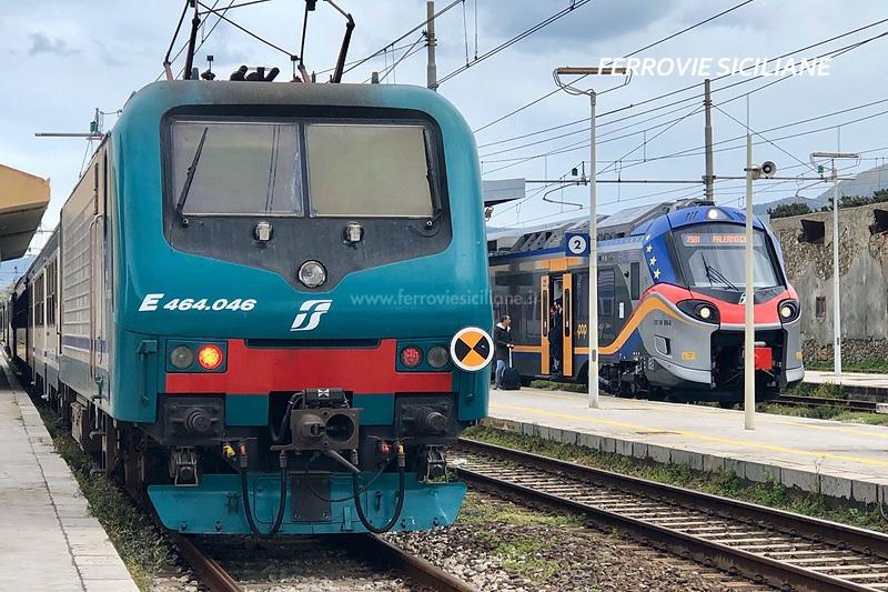Coronavirus, nuove limitazioni per il trasporto ferroviario in Sicilia e sullo Stretto di Messina