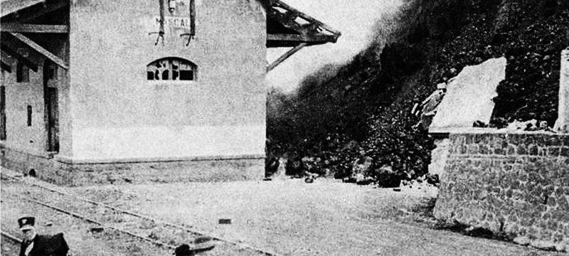 <strong>L'eruzione del 1928</strong><br/>Del: 01/09/2011 N° 033<br/>Foto: Coll