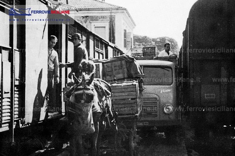Il trasporto di agrumi via ferrovia
