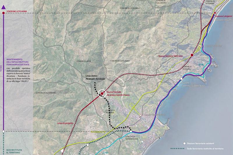 Raddoppio Messina-Catania, il si Ministeriale conferma: ripristinare la ferrovia Alcantara-Randazzo