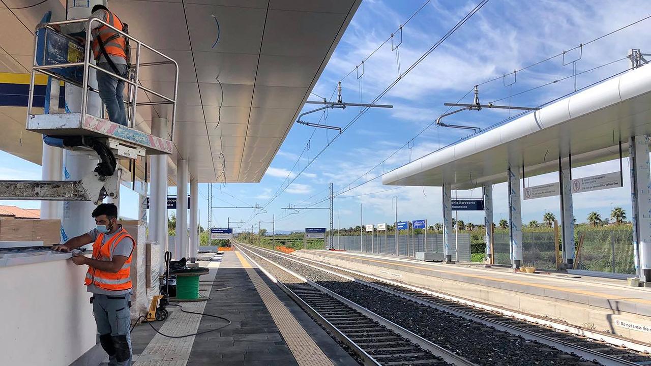 Il 13 dicembre apre la stazione di Catania Aeroporto-Fontanarossa