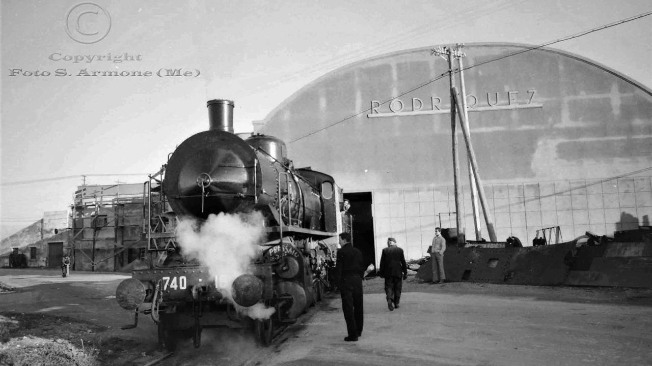 Le officine ferroviarie Rodriquez di Messina nelle foto di Saro Armone