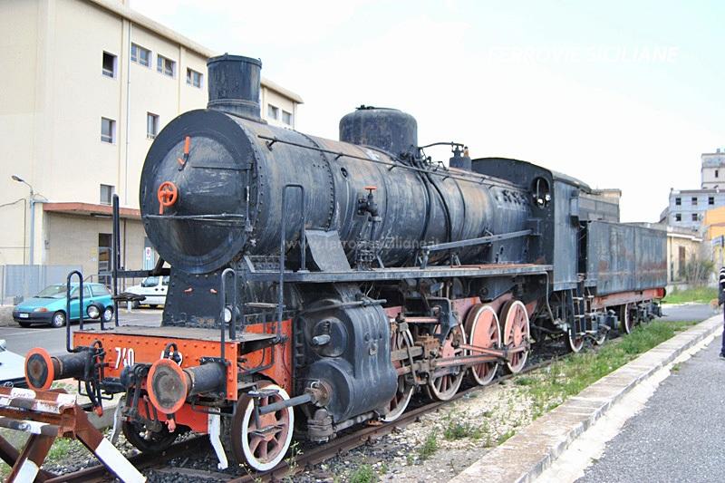 Sarà trasferita la locomotiva a vapore di Siracusa
