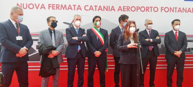 INAUGURATA LA STAZIONE CATANIA AEROPORTO-FONTANAROSSA
