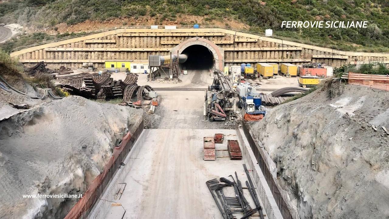 Ferrovia Messina-Palermo: raddoppio Cefalù-Castelbuono, aggiornamento del 01/06/2021