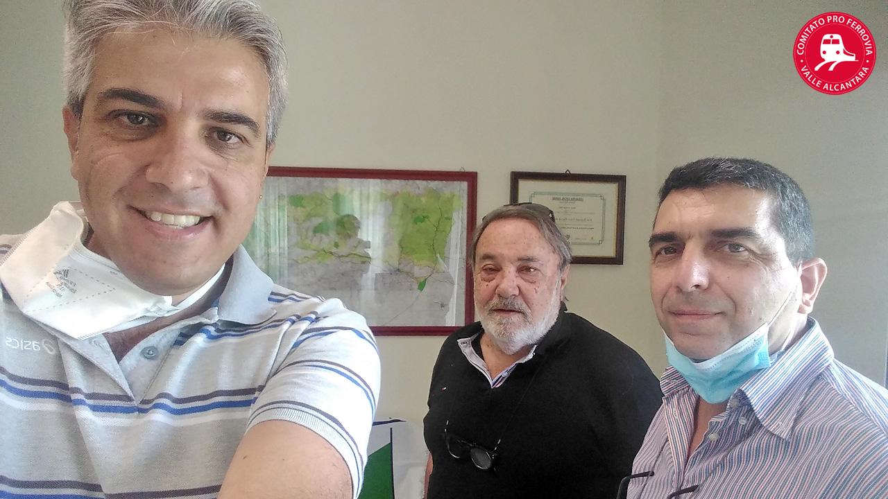 Comitato Pro ferrovia Valle Alcantara incontra Renato Fichera